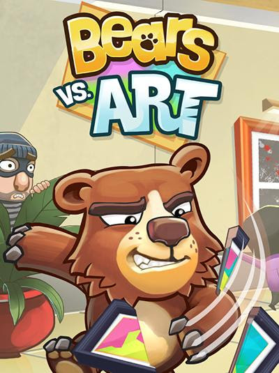 Screenshots of the Bears vs. art for Android tablet, phone.