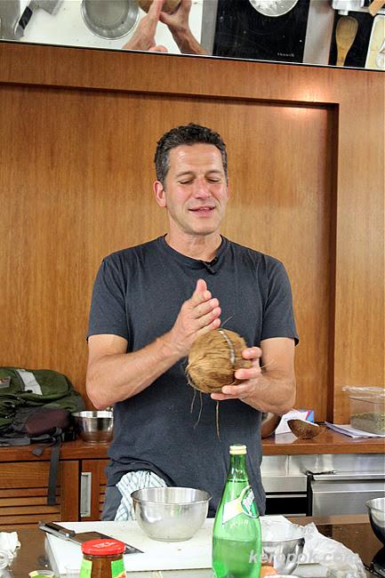 Bob Blumer Cooking Workshop - Coconut Shrimp Lollypops
