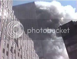 World Trade Center 7 on fire WTC 7 fire