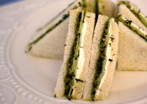 CucumberPestoSandwiches