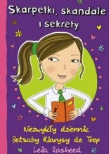 Okładka książki Skarpetki , Skandale i sekrety. Drugi zjawiskowy dziennik Betsaby Klarysy de Trop