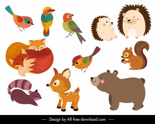 42 Gambar Hewan Kartun Berwarna Gratis Gambar Hewan
