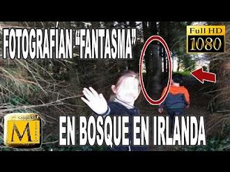 Captan Fantasma De Soldado En Bosque De Irlanda