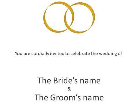 Wedding Invitation Editable Template - Unique Wedding Invitations