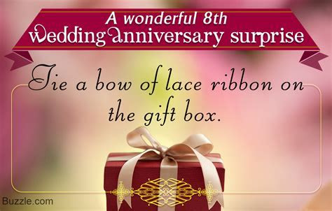8th Wedding Anniversary Gift Ideas For Wife   Gift Ftempo