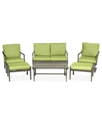Madison Outdoor Patio Furniture, 3 Piece Seating Set (2 Adjustable ...