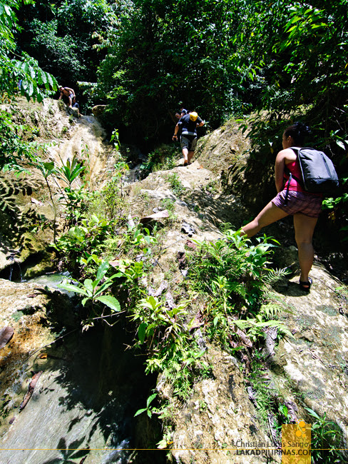 The Trek to Kalubihon Falls in Iligan City