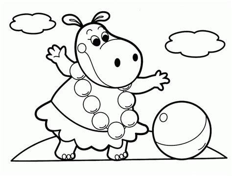 easy animal coloring pages  kids coloring home