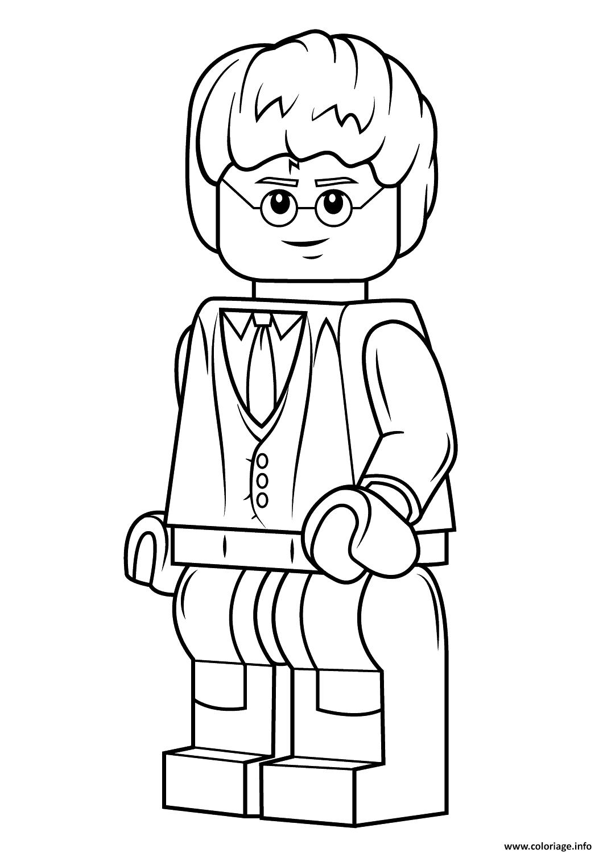 Coloriage Lego Harry Potter Harry Potter Jecoloriecom