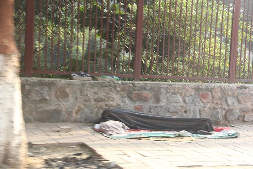 The Delhi ... Pretending To Be Dead Candidate by firoze shakir photographerno1