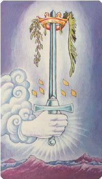 Ace of Swords Tarot Card Meanings tarot card meaning