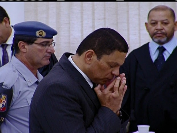 Julgamento de Mizael Bispo de Souza (Foto: Reprodução Globo News)