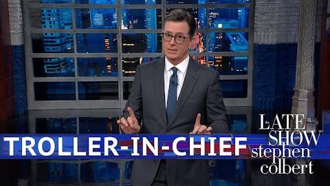 Stephen Colbert Late Show Youtube