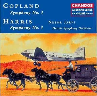 Copland, Harris Symphonies CD