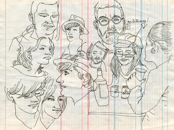 29º sketchcrawl in barcelona