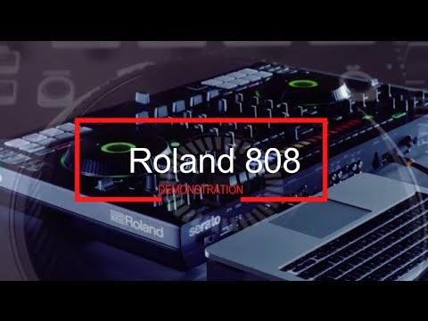 SERATO X ROLAND DJ 808 REVIEW & DEMONSTRATION