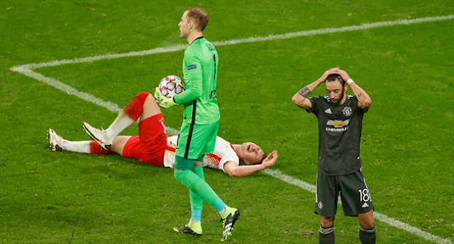 Man Utd Crash Out Of Champions League After Falling To Leipzig