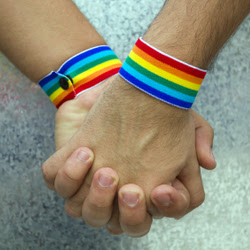 Holding Hands - Gay Pride