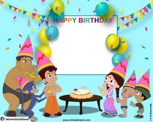 Chhota Bheem Photobooth App Free Colorful Photo Frames For Kids