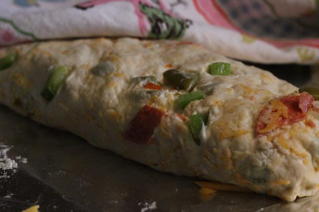 Crazy Pizza bread