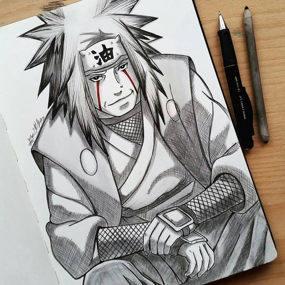 Naruto drawing in pencil at getdrawingscom free for personal use