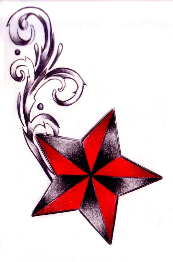 Nautical Star Drawing At Getdrawingscom Free For Personal Use