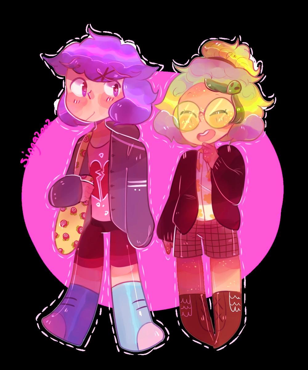 Cute lil human kiddos! (i love peri's design ok)