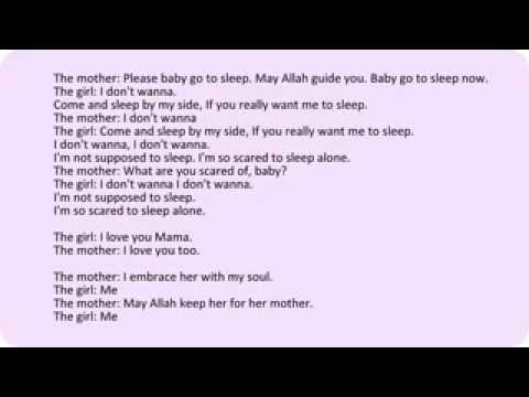 Love Lyrics Quotes I Love You Mama Arabic Song Lyrics In English