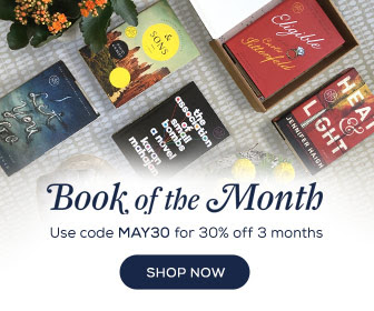 Use Code May30 for 30% Off 3 Months at Book of the Month!