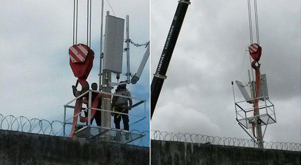 Os presos poderão agir em retaliação à instalação de bloqueadores de celular na Penitenciária Estadual de Parnamirim.