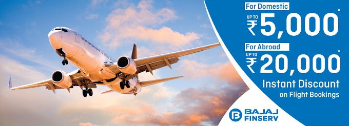 Upto 10% instant discount on Domestic and International Flights