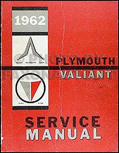 Download Free  1962 Plymouth And Valiant Repair Shop