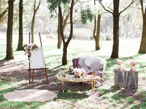 A Magical Woodland Bohemian Wedding Shoot   The Wedding
