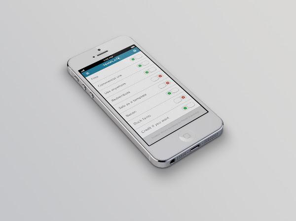 50+ Photorealistic Free PSD iPhone 5 Mockups | FreeCreatives