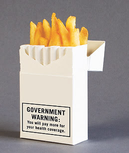 Fries and cigarettes