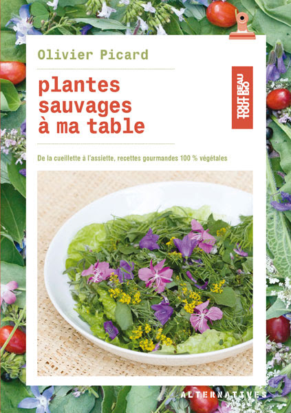 Plantes sauvages à ma table. Olivier Picard