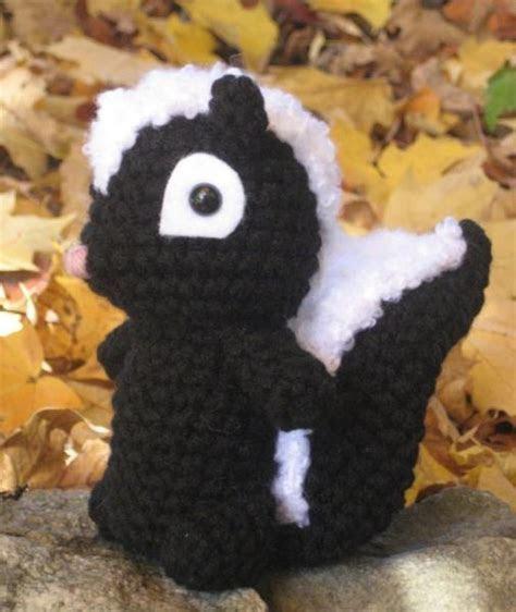 Pin Crochet Skunk Amigurumi Pattern By Amy Gaines