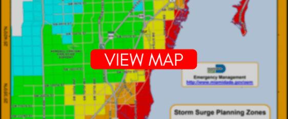 miami dade storm surge map