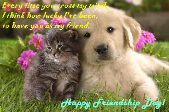 Lucky To Have You Free Happy Friendship Day Ecards Greeting Cards