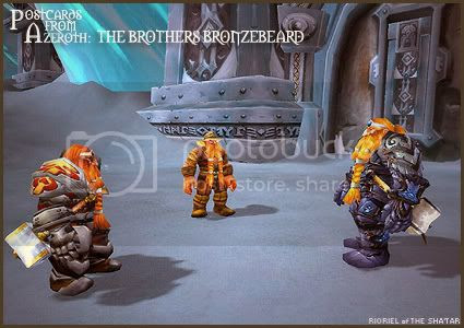 Postcards of Azeroth: The Brothers Bronzebeard, by Rioriel Ail'thera