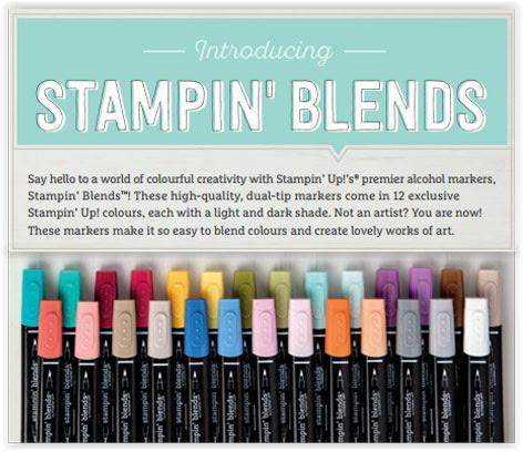 Image result for stampin blends images
