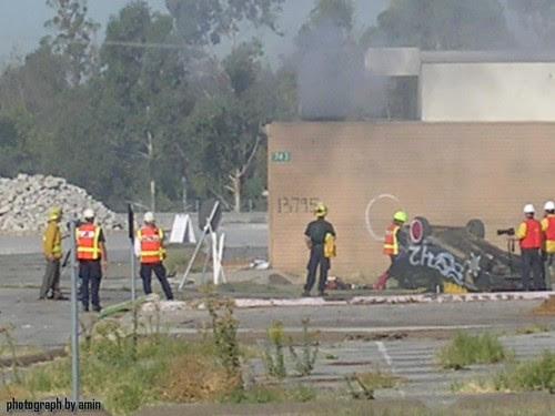 Fire at El Toro Base Part 2 - 11/15/07 02