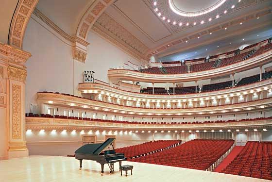 Kết quả hình ảnh cho nhà hát Carnegie