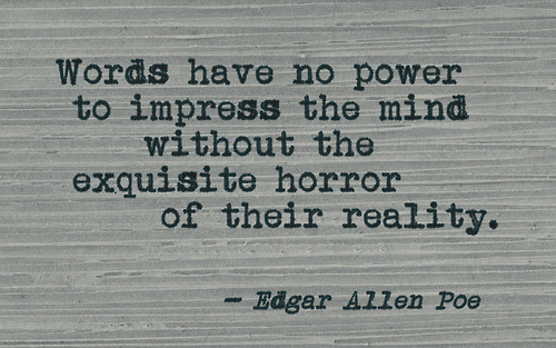Edgar Allan Poe Quote About Words Awesome Quotes About Life