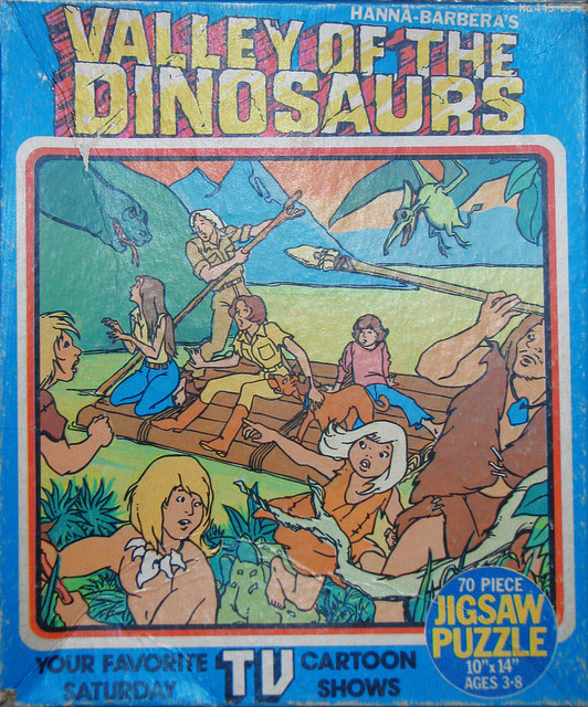 Valley of the Dinosaurs puzzle