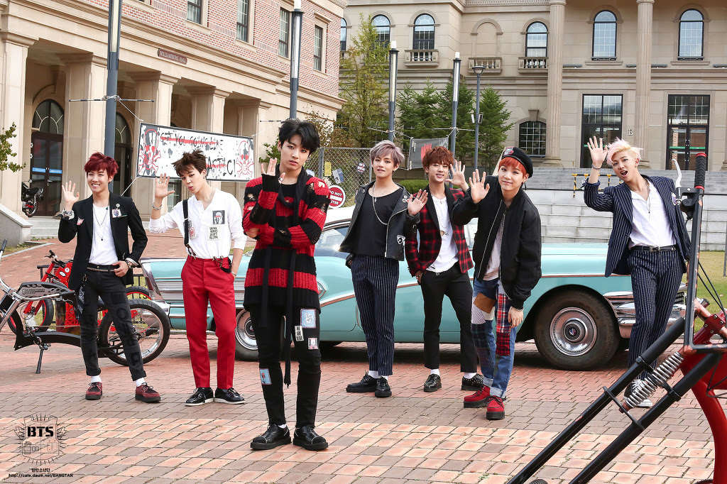BTS : War of Hormone MV