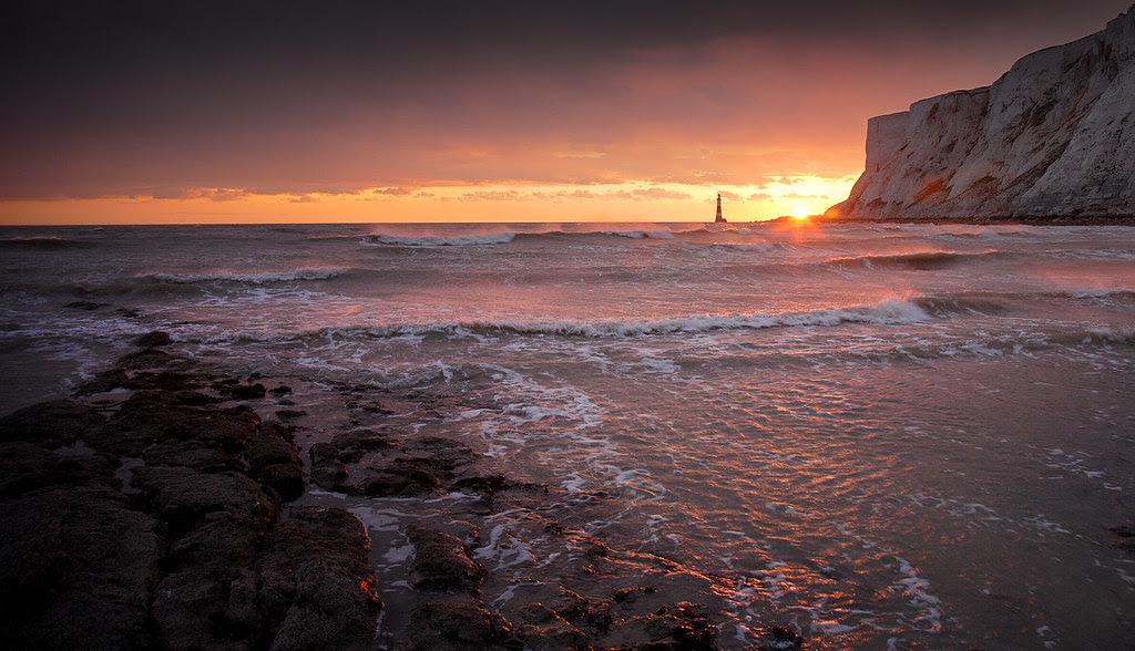Beachy Head at Sunset