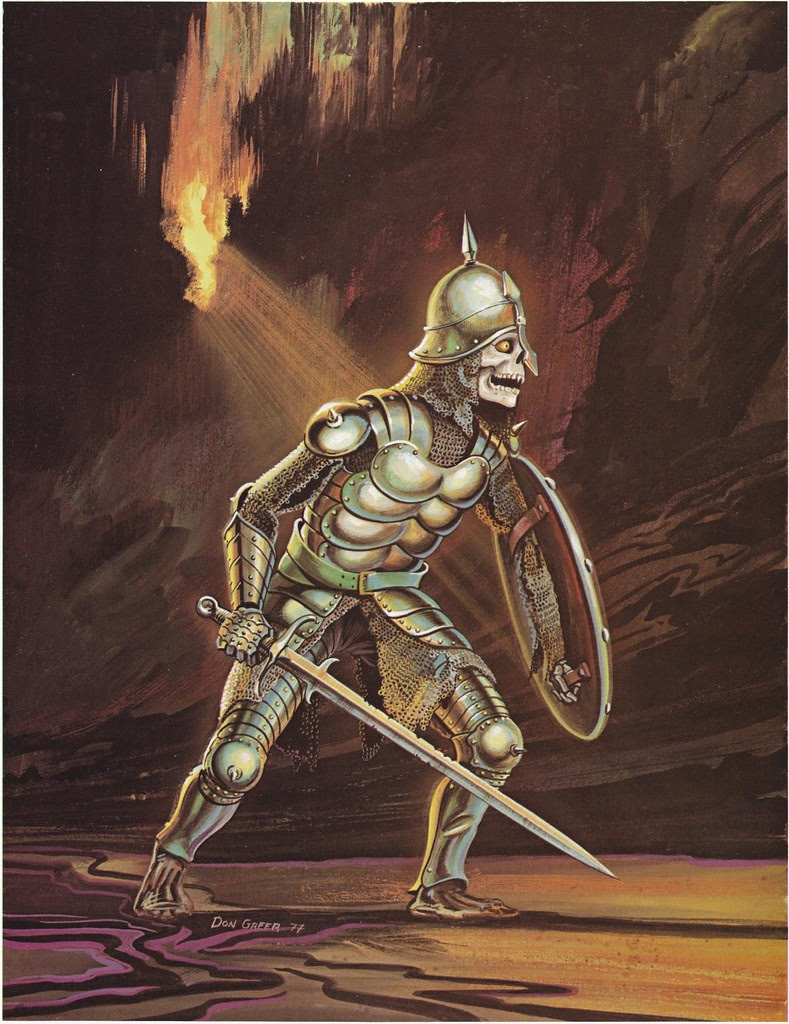 Down In The Dungeon - Don Greer, Rob Stern (Squadron-Signal_1981)-Skeleton Warrior