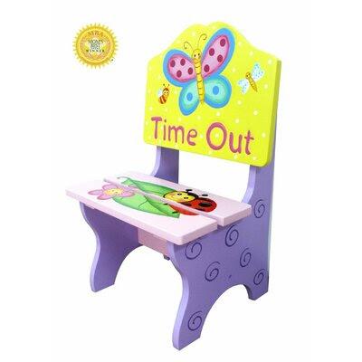 Kids Wooden Chair   Wayfair