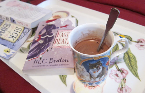 Books and hot chocolate by Anna Amnell